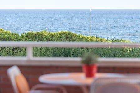 Apartamento a pie de playa amplio y familiar - Premià de Mar - 公寓