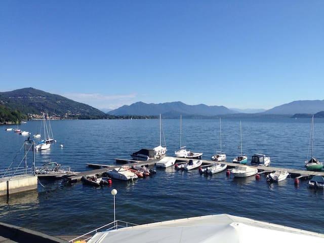 Bilocale lago Maggiore    - Meina - Appartement