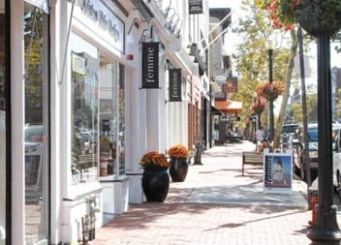Red Bank ~ een cool stadje aan de kust van Jersey