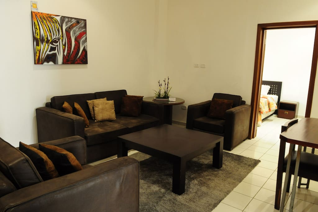 The Sitting Area Of 1-BR Superior