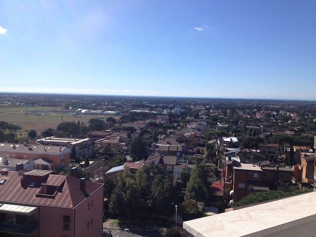 Mansarda panoramica zona Axa  - Acilia-Castel Fusano-Ostia Antica - Wohnung