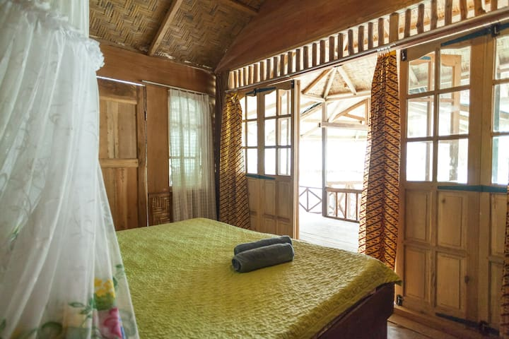 Jungle and riverview room - Bukit Lawang