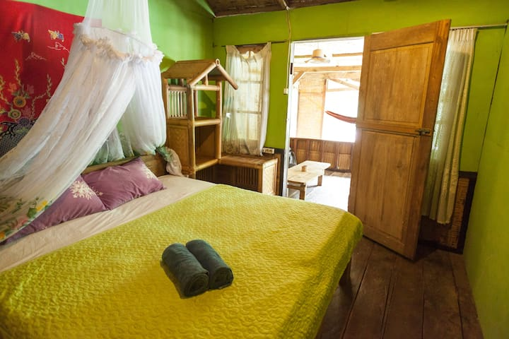 Orangutan and jungleview room - Bukit Lawang - Bohorok - Bed & Breakfast