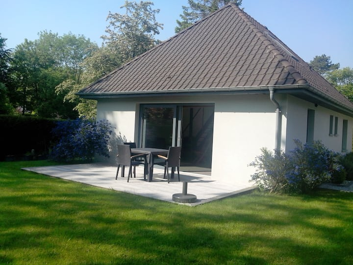 Le Touquet petite maison jardin Sud