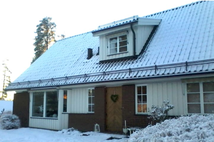 10+ beds close Lugnet, Falun and city - Falun - Rumah