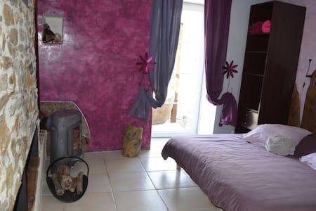 Gîte, chambre, table au Mas Souquet - Wohnung