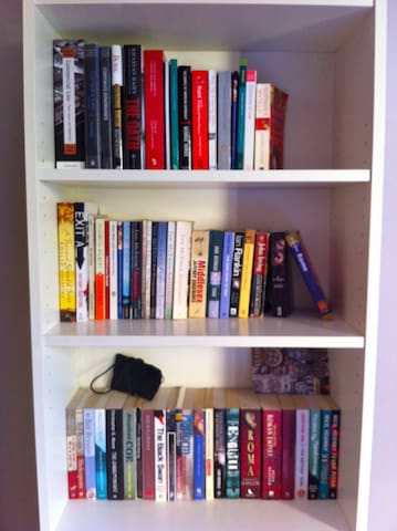 The English Books Library in your room