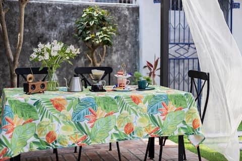海岛温馨私密花园套房 (淇澳初印象咖啡民宿后院)