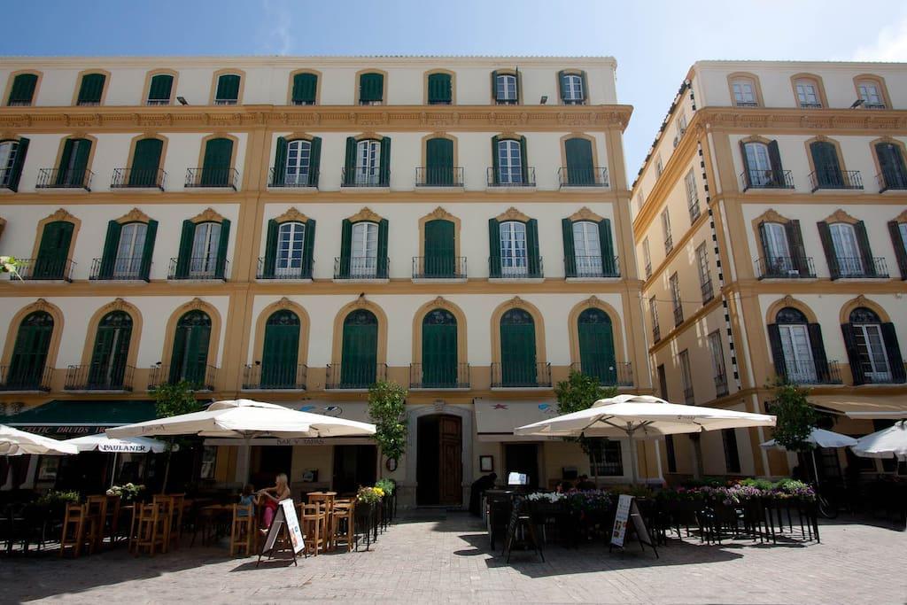 Apartamento de dise o en el centro appartamenti in affitto a malaga andalusia spagna - Apartamento en malaga centro ...