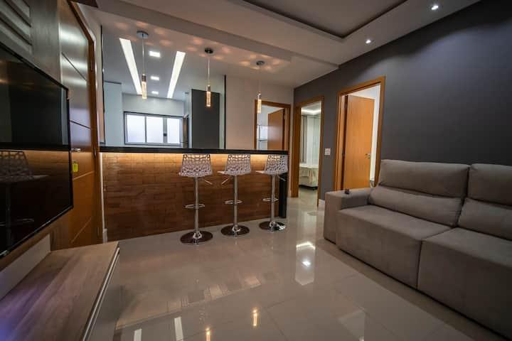 Apartamento Aconchegante 2 quartos novo!!
