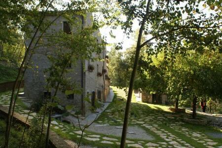 INTERA VILLA CON PISCINA E GIARDINO - Santa Vittoria In Matenano