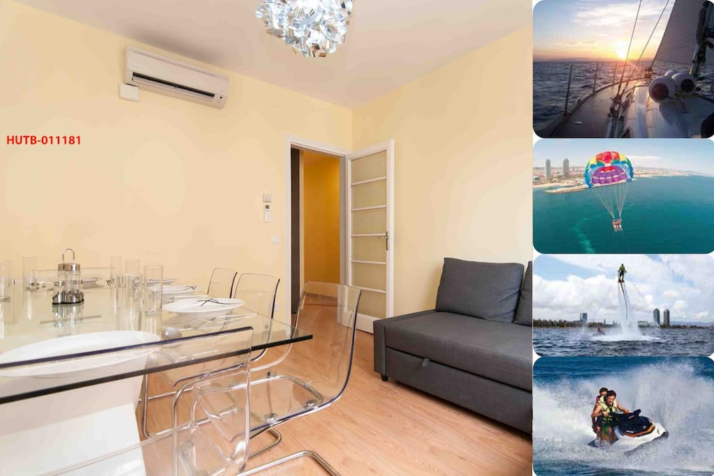 Delightful four bedroom apartment (sleeps 9+) with stunning activities