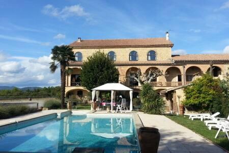 Chambres d'Hôtes au soleil du Gard. - Saint-Christol-lès-Alès - Bed & Breakfast