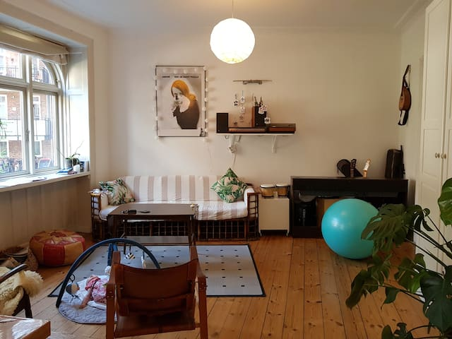 Lovely authentic home for your summer stay in CPH