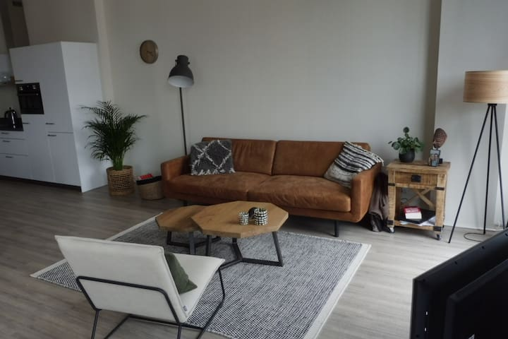 Spacious apartment in Utrecht city centre