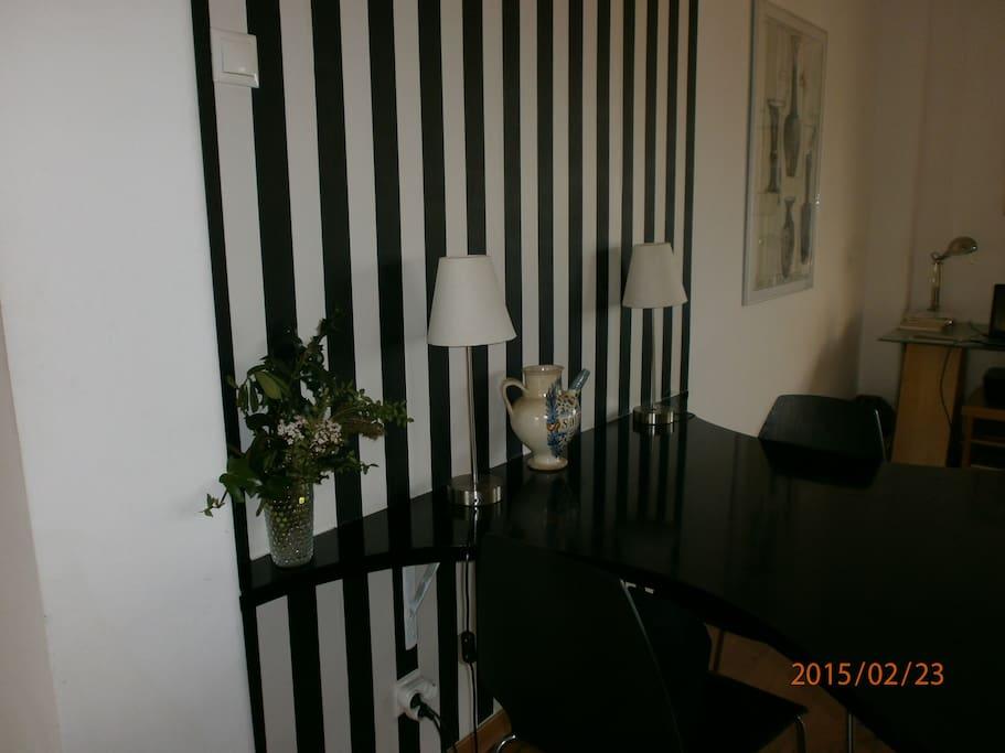 Pormenor da sala/casa de jantar