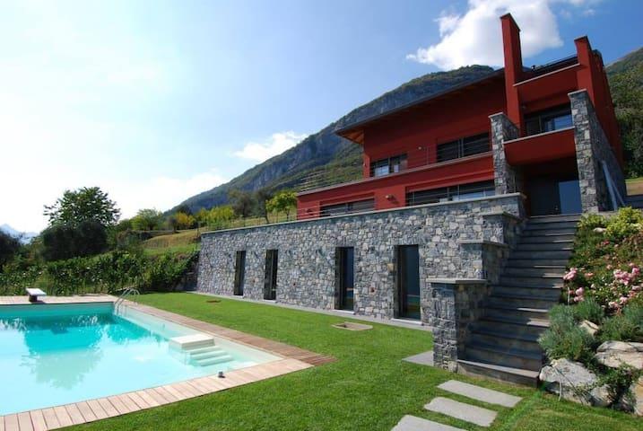 Modern Design Villa with Lake view - Tremezzina - วิลล่า