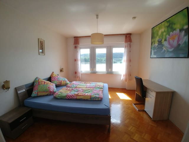 Ferienwohnung in Rüdesheim mit Aussicht