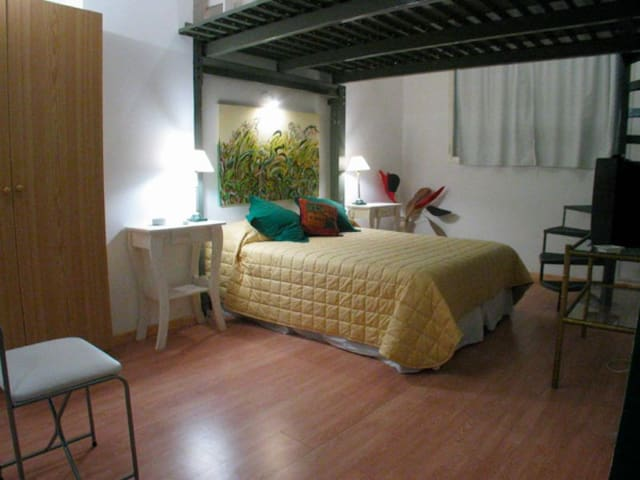 B03 Trendy Loft style Apart close to historic district and prestigious universities