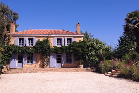 Spacious period farmhouse with pool. - La Caillère-Saint-Hilaire