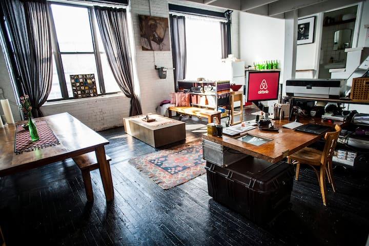 Charming Artist Loft - Brooklyn - Loft