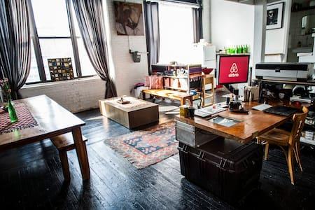 Charming Artist Loft - Brooklyn