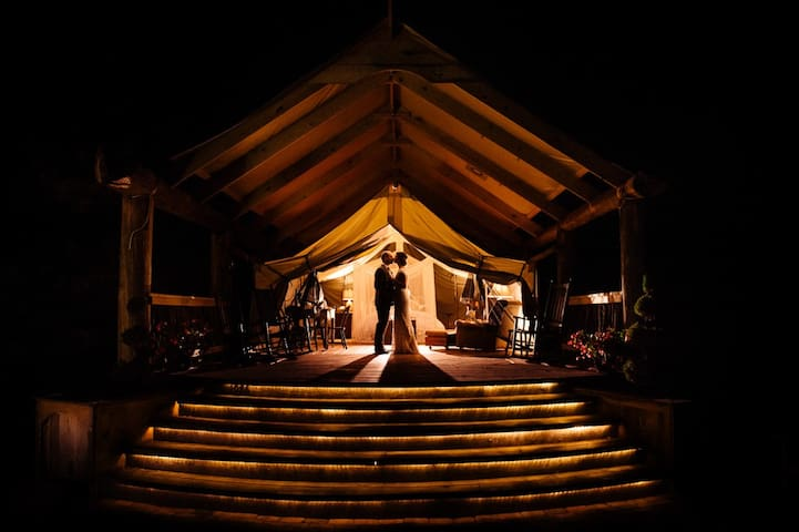 Glamping Tent in Southwest Virginia - Boones Mill - Tent
