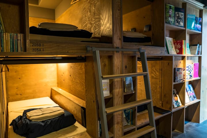 Dormitory Room◇Busouan Library & Hostel◇