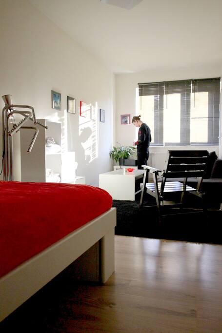 Ihr Zimmer von die Tür / Your room from the door