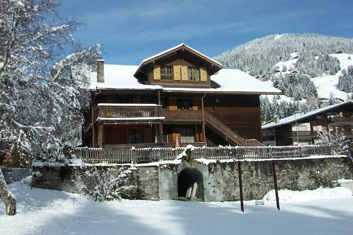 Chalet Eva au coeur du village - Morgins - Apartment