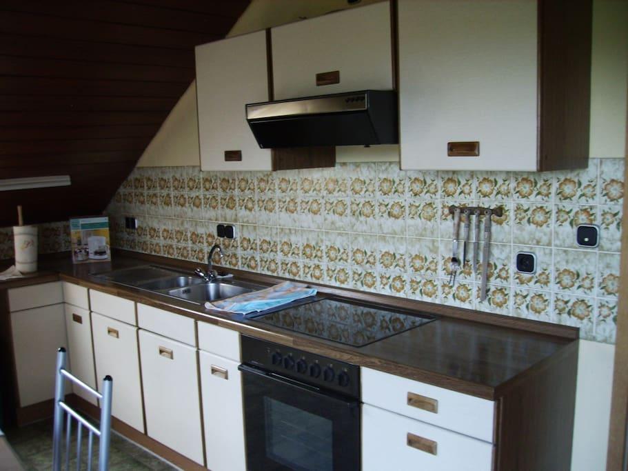 Die komplette Küche