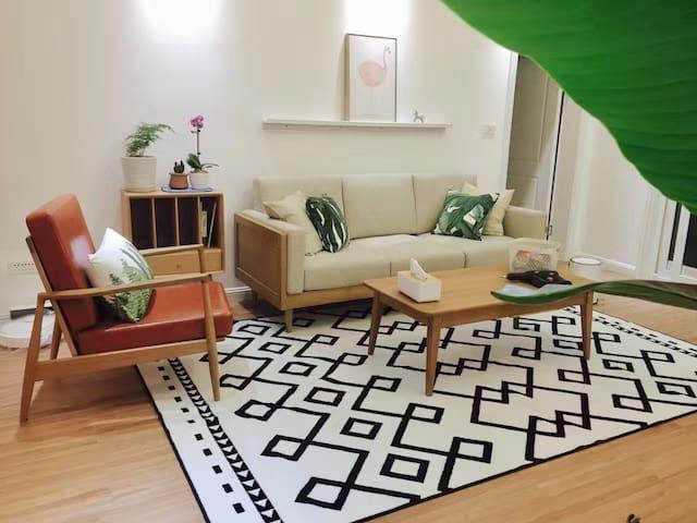 【斑竹村里·初心】重庆北碚  西南大学 轨道6号线  缙云山  北温泉干净舒适的日式房间