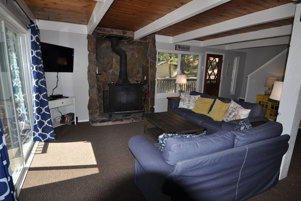 Escape At The Lake. Pine Mountain Lake Vacation Rental located directly across the street from the Lake Lodge Beach and only 25 miles from the entrance of Yosemite, Hwy 120 corridor. Unit 4 Lot 49