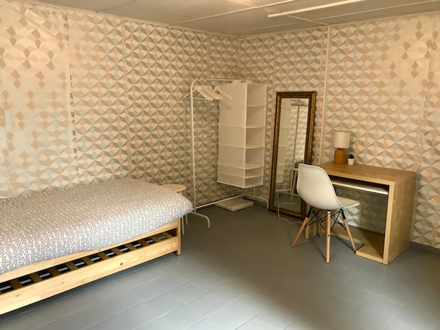 Original  Private Room in a house for student