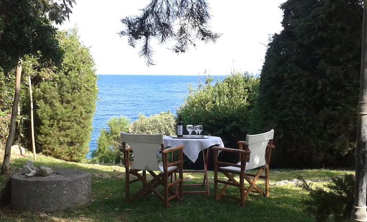 Villa Ilida with sea access and spectacular view