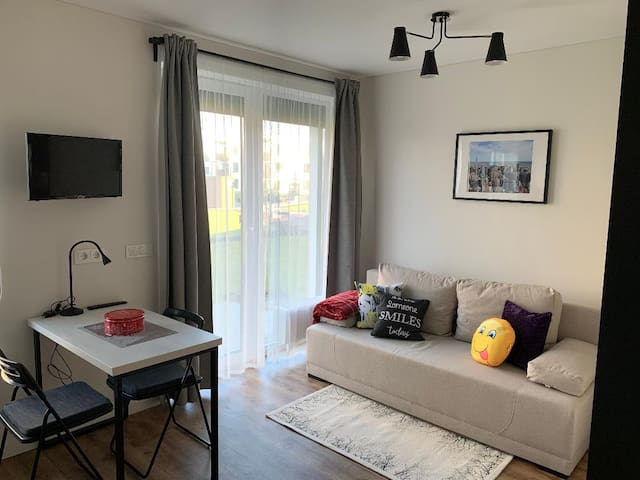 Cozy new studio for 2 persons close to the center