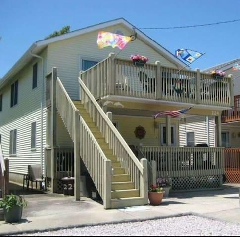 Cute family friendly beach house - North Wildwood - Hus