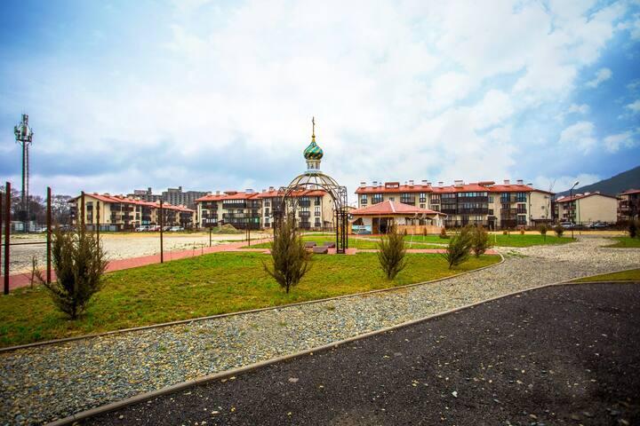 Новая квартира для отдыха в Резиденции Утриш! - Sukko - Квартира