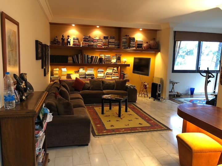 Warm 3 bed rooms apartment  In a secure compound
