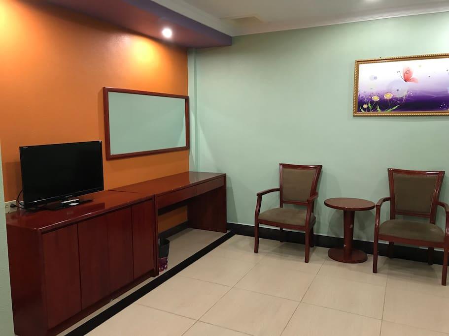 简洁的房间