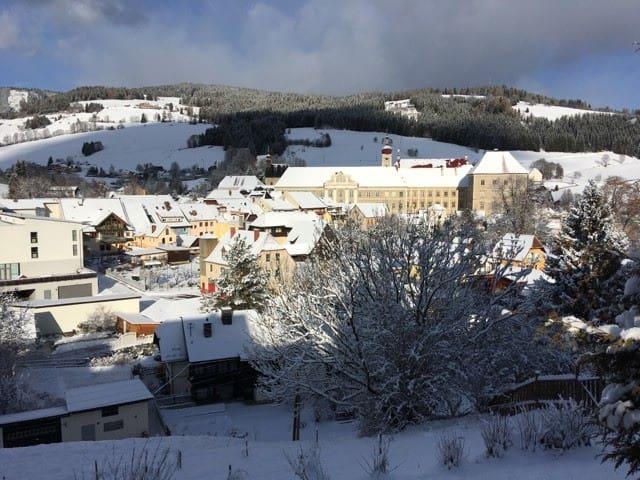 Sankt Lambrecht - Abbey panorama