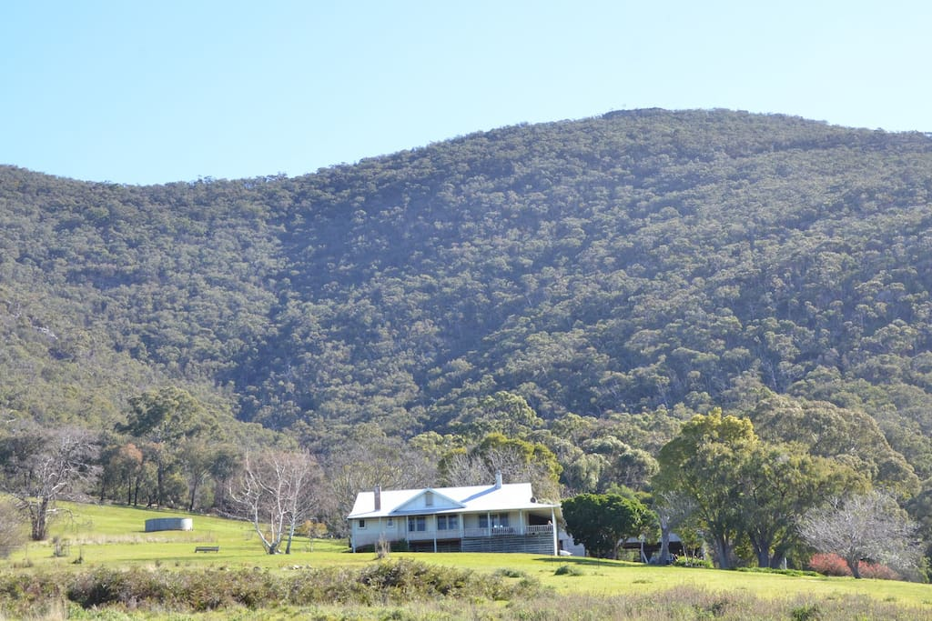 Adair is bordered by the Mount William Range of the Grampians National Park.