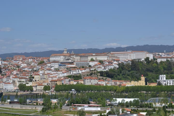 Apartment - Panoramic view over the city - Coimbra - Flat