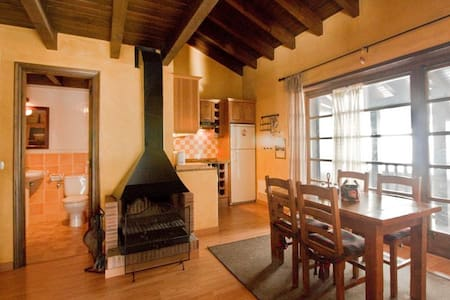1 Bedroom apartment with balcony for a family (2 adults-2 children), Refugis d' Incles - Incles