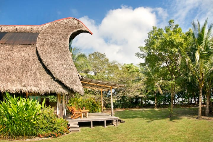 The house is just 50 meters from the sand of Playa Sombrero.