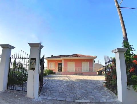 Casa de campo de Maria em Alimmatades, Corfu