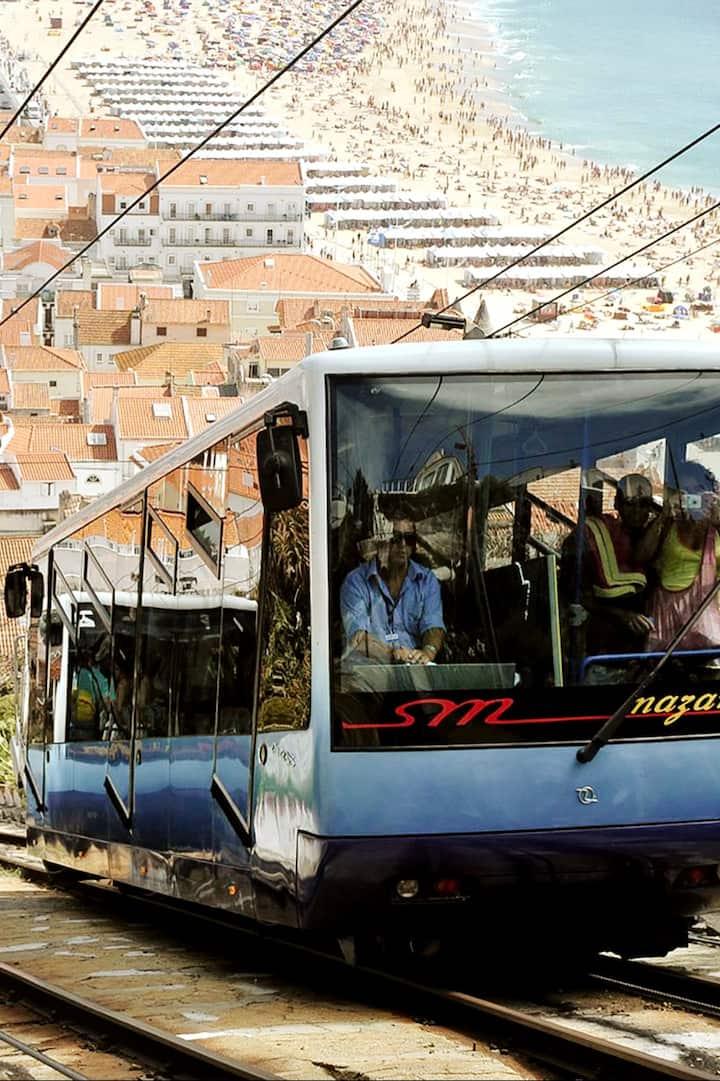Ride the Nazaré Funicular