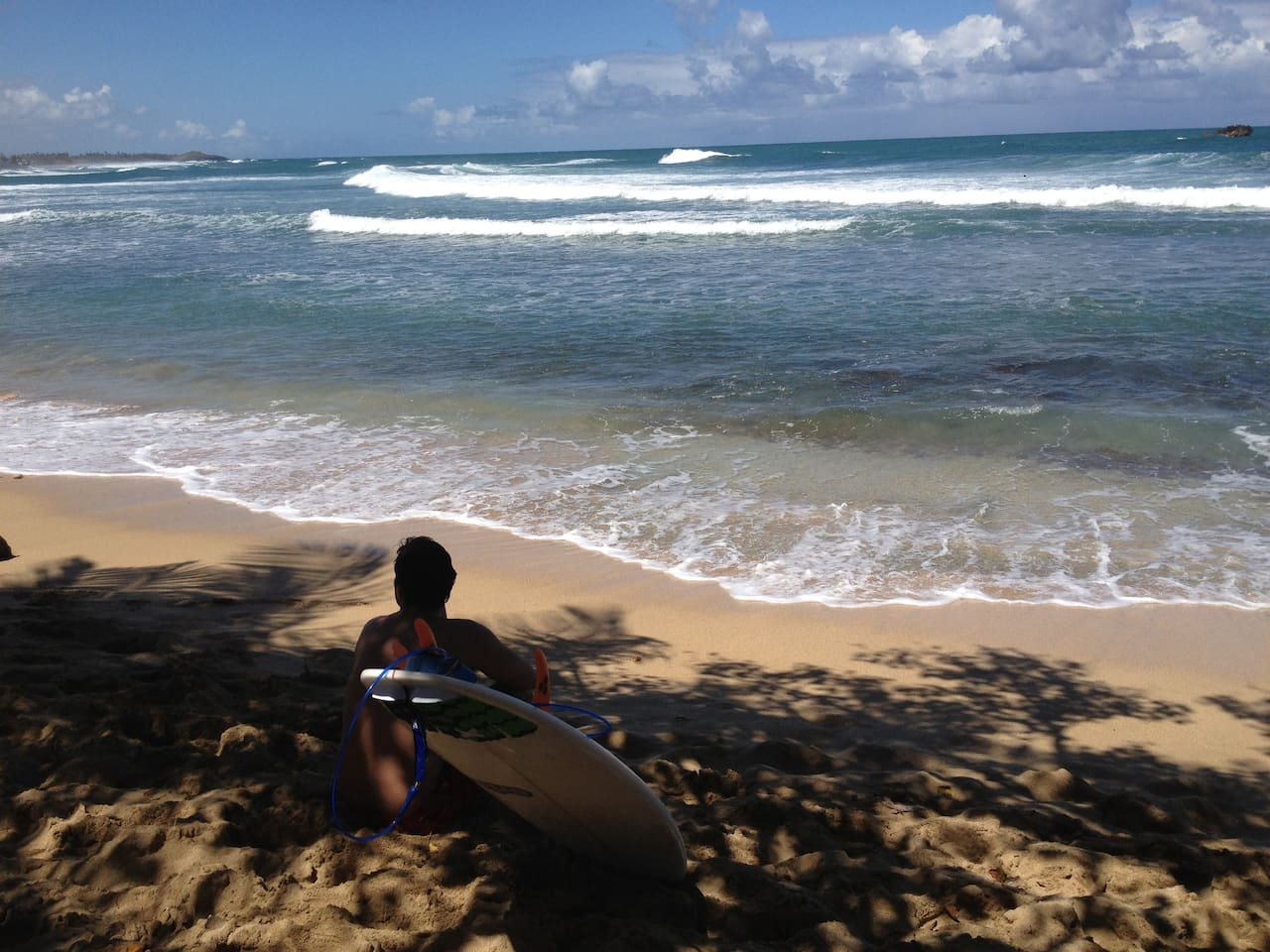 Great surfing and snorkling spot