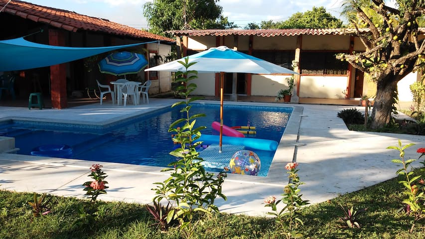 Beautiful White Sand Beach Property - Playa Los Cobanos - Villa