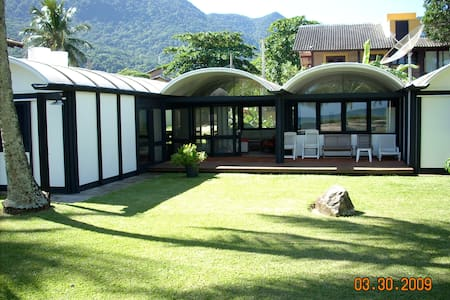 Casa Guaeca pe na areia - Guaeca, São Sebastião - Talo